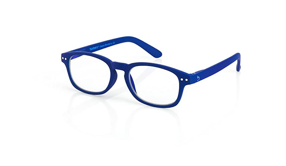 Blueberry Computer Glasses - S -Clear Lens- (Classic Blue,Clear)