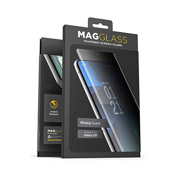 Magglass Samsung Galaxy S21 Privacy Screen Protector (Scratch Free/Bubble Free) Anti...
