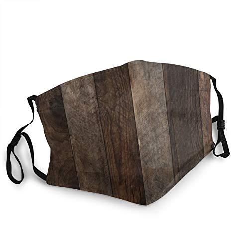 ocaohuahuaba Unisex Wood 15cm * 20cm Gesichtsschutz Anti-Staub Unisex Cotton Cover