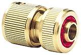 Draper 36202 - Piezas y Conectores para mangueras (latón), Color Dorado