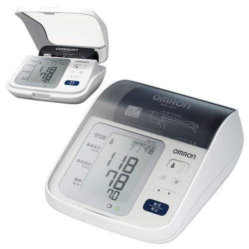 オムロン 上腕式血圧計 ホワイト HEM-8731-N