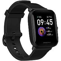 Amazfit Bip U Health Fitness Smartwatch with SpO2 Measurement (Black)