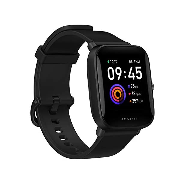 """Amazfit T-Rex Smartwatch, Military Standard Certified, Tough Body, GPS, 20-Day Battery Life, 1.3"""" AMOLED Display, Water Resistant,"""