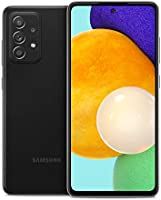 Samsung Galaxy A52 5G, Factory Unlocked Smartphone, Android Cell Phone, Water Resistant, 64MP Camera, US Version, 128GB,...