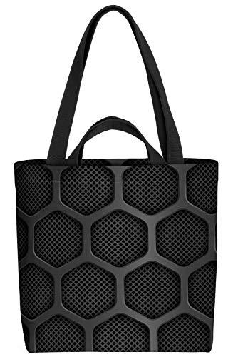 VOID Lautsprecher Muster Tasche 33x33x14cm,15l Einkaufs-Beutel Shopper Einkaufs-Tasche Bag