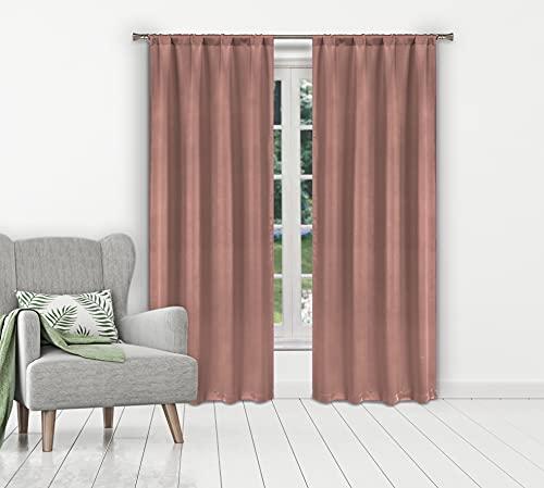 cortina fucsia de la marca Duck River Textile