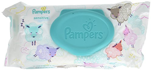 Pampers Sensitive Baby Wipes with Pop-Top - 56ct