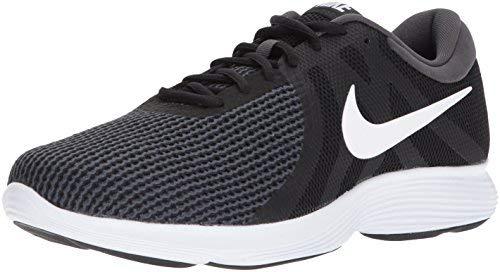 Nike Men's Revolution 4 Running Shoe, Black/White-Anthracite, 6 Wide US
