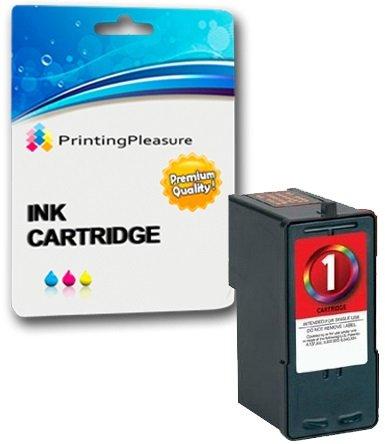Printing Pleasure Druckerpatrone kompatibel zu Lexmark No. 1 (Color) für X2300 X2310 X2315 X2320 X2330 X2340 X2350 X2360 X2370 X2380 X2390 X2450 X2460 X2465 X2470 X2480 X3450 X3470 X3480 Z730 Z735