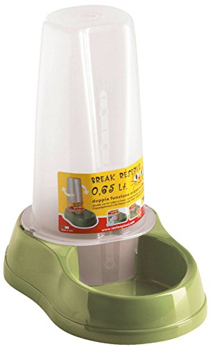 PetSafe 80500 Wasser- und Futterautomat, 0.65 L, grün