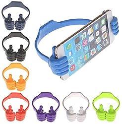 DS Adjustable OK Mobile Stand/Mobile Holder for Smartphones, Assorted Colors