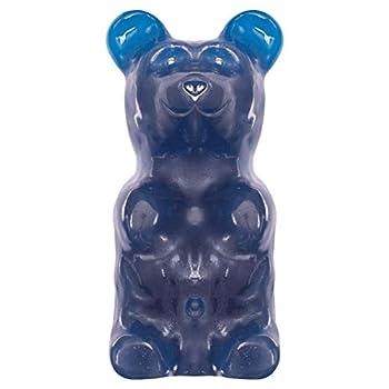 World s Largest Gummy Bear Approx 5-pounds Giant Gummy Bear - Blue Raspberry