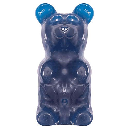 Product Image of the World's Largest Gummy Bear, Approx 5-pounds Giant Gummy Bear - Blue Raspberry