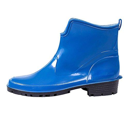 Lemigo Kurze Gummistiefel Elke , Farbe:Blau;Größe:39