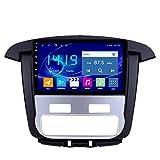 BBGG Android 9 Car Estéreo Navegación por Satélite GPS Navegación, 4G + 64G GPS Navigator, Bluetooth Teléfono Manos Libres Imagen De Inversión/Radio DVD/FM/Am/WI(Size:Aire Acondicionado automático)