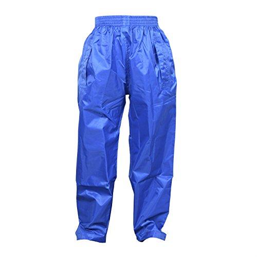 The MONOGRAM Group Ltd Dry Kids Kinder Regenhose - Blau 9/10 Jahre