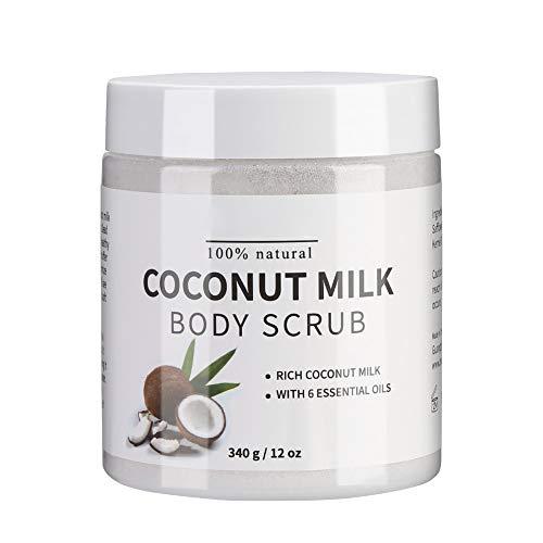 Ruiqas Melao Pure Body Naturals Lait de Coco Exfoliant Corps Gommage Sel de Bain