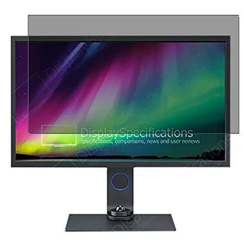 Vaxson Protector de Pantalla de Privacidad, compatible con BenQ SW321C 32' Display Monitor [no vidrio templado] TPU Película...