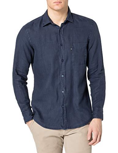 BOSS Mens Relegant_2 10169252 03 Shirt, Dark Blue404, XXL