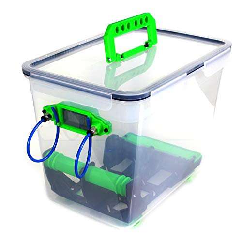 M-Teile-Store FLOWCON Filament Trockenbox Drybox FCD-2 Hydrometer Box 3D-Druck