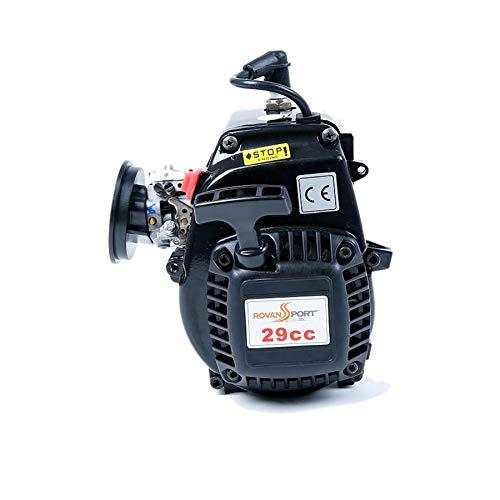 TOOGOO Motores de Gas Baja 4 Bolt 29Cc para 1/5 HPI Rovan KM Baja 5B 5T 5SC LOSI 5T DBXL FG Buggy Redcat RC Car