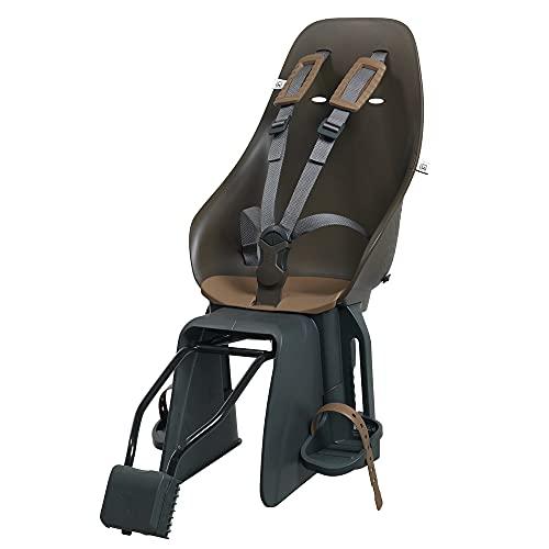 Urban Iki Hintersitz mit Frame Fahrrad für Kinder bis 6 Jahre - Vorneliegender Kinderfahrradsitz für den Gepäckträger - einfache Montage - Fahrradsitz bis 22kg