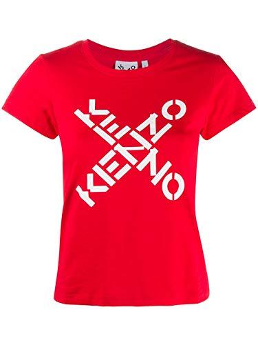 Camiseta de Mujer con Logotipo de Kenzo Talle S