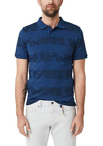 s.Oliver Herren 28.905.35.6486 Poloshirt, Blau (Caribbean See 56a0), (Herstellergröße: XX-Large)