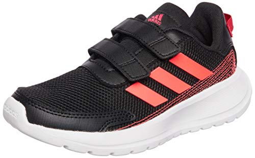 adidas TENSAUR Run C, Zapatillas, NEGBÁS/ROSSEN/ROSINT, 33.5 EU