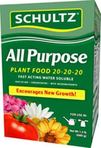 Schultz 1.5# All Sale item Purpose Department store Plant Soluble Food Water