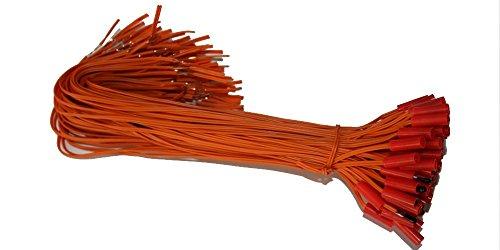 Koopjegadget 50x Elektrische Brückenzünder Typ A / 0,3m (Elektrozünder, Sicherheitszünder, Zündschnur)