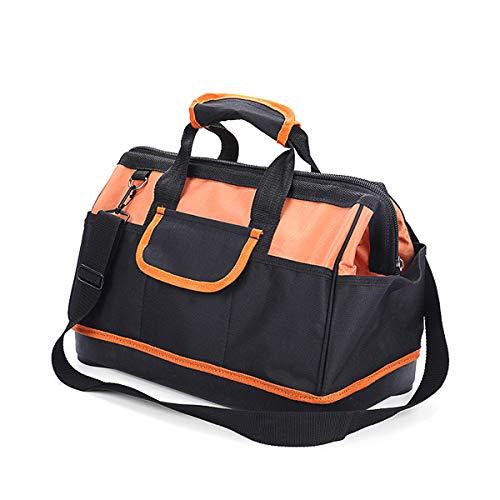 Bolsa de herramientas de hardware Técnico 18inch Oxford moldeado Base Mochila bolsa Organizador durable 1114