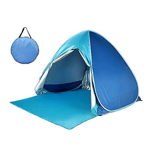 WANGXL Carpa para Acampar Al Aire Libre Carpa Emergente AutomáTica InstantáNea Carpa De ProteccióN UV Toldo para Sombrilla para Acampar En La Playa Patio