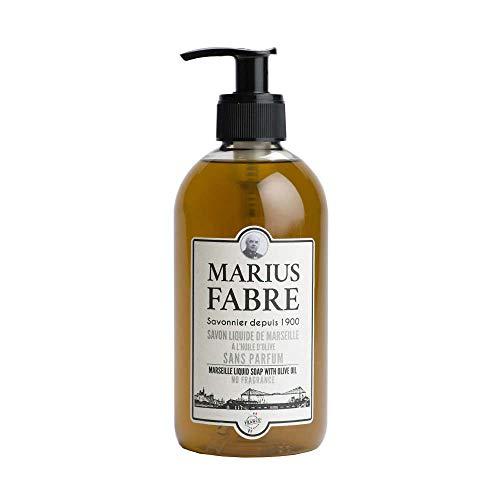 Marius Fabre Zeep Zonder Parfum Met Pomp, 400 Ml