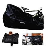 Richkasun Road Bike Travel Bag Bicycle Travel Case Thick Bike Carry Bag,Folding Bike Box for Air Travel(26 inch)
