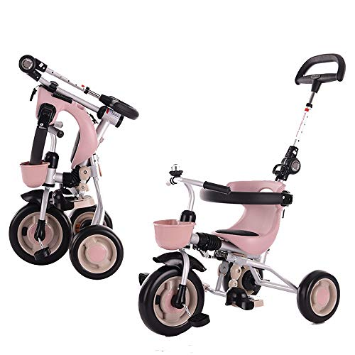 Find Bargain YUMEIGE Kids' Tricycles Kids Tricycle 2-6Years Old Birthday Gift Baby Tricycle with Pus...