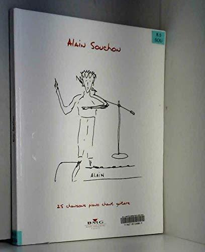 Partition Alain Souchons 25 chansons - piano voix guitare