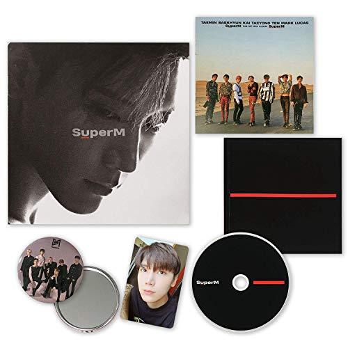 SuperM 1st Mini Album - SUPER M [ TEN ver. ] CD + Booklet + Mini Booklet + Photocard + FREE GIFT / K-POP Sealed.