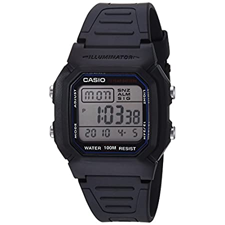 Casio watches Casio Men's W800H-1AV Classic Sport Watch with Black Band