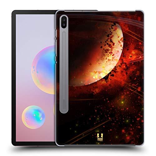 Head Case Designs Saturn Raumwunder Set 2 Harte Rueckseiten Huelle kompatibel mit Samsung Galaxy Tab S6 (2019)