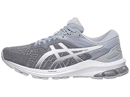 ASICS Women's GT-1000 10 Running Shoes, 7M, Piedmont Grey/Pure Silver