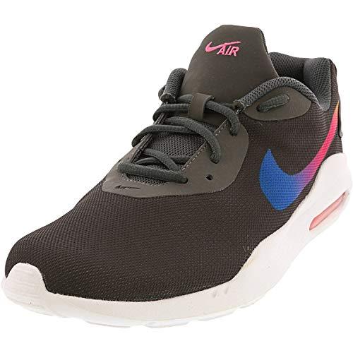 Nike Women's Air Max Oketo Dark Grey/University Gold Ankle-High Running - 9.5M
