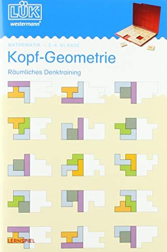 LÜK-Übungshefte: LÜK: 2./3./4. Klasse - Mathematik: Kopf-Geometrie