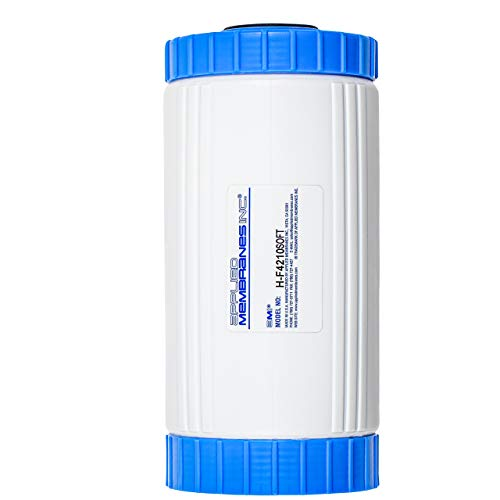 Water Softening Filter Cartridge | 10' Big Blue Universal Size | Ion Exchange Filter Softens Water | Great for Appliances and Washing Machines (10' Big Blue | 1 Pack)