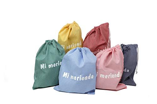 Haberdashery Online Bolsa ''Mi Merienda'' Infantil