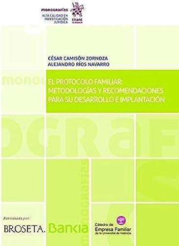 Books By Cesar Camison Zornoza_el Protocolo Familiar Metodologias ...