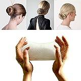 50 redecillas de pelo invisibles de malla (rubia) para bailarina de ballet, gimnasia, horseriding, chef, enfermera