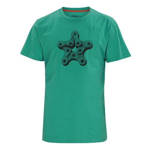 Zimtstern Herren T-Shirt Chain, Mint, S, 3212213214703