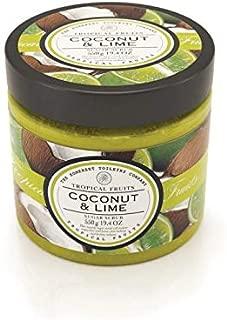 Tropical Fruits - Luxury Sugar Body Scrub - Coconut & Lime, SLES & Paraben Free - 550 g / 19.4 oz