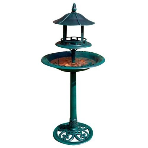 BIRD FEEDING STATION HOTEL WILD BIRD FEEDER OUTDOOR WINDOW TABLE MEAL WORM (ORNAMENTAL BIRD BATH)